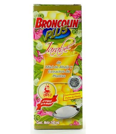 JARABE BRONCOLIN PLUS 240 ML