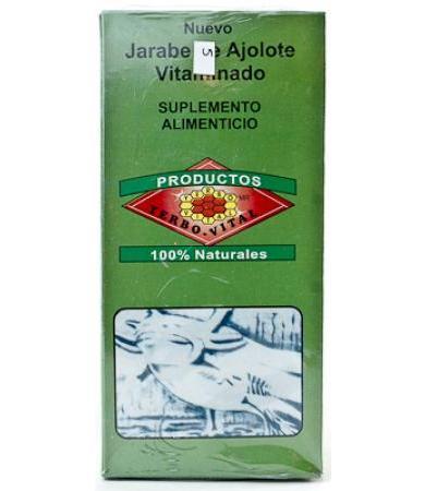 JARABE DE AJOLOTE VITAMINADO 180 ML YERBO VITAL