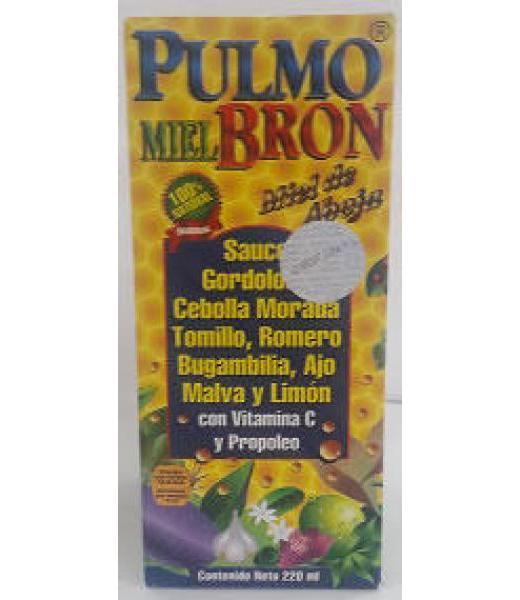 JARABE PULMOBRON 220 ML GRUPO OMEGA 2000