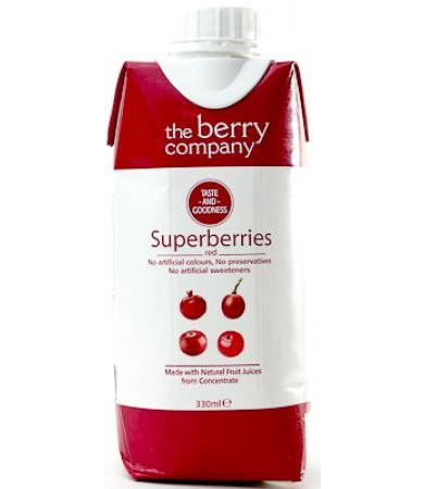 JUGO SUPERBERRIES ROJO THE BERRY 330 ML