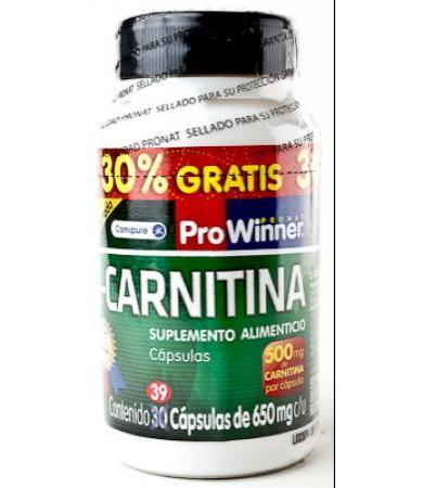 L CARNITINA 30 CAP Y 9 CAP DE REGALO PRONAT