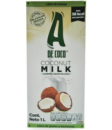 LECHE DE COCO 1 L A DE COCO
