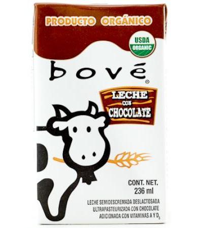 LECHE ORGANICA CHOCOLATE 236 ML BOVE