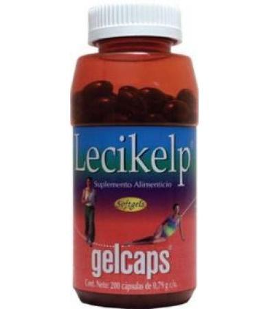 LECIKELP 200 CAP GELCAPS