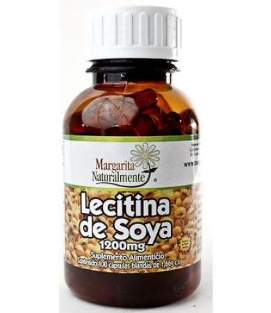 LECITINA DE SOYA 100 CAP MARGARITA NATURAL