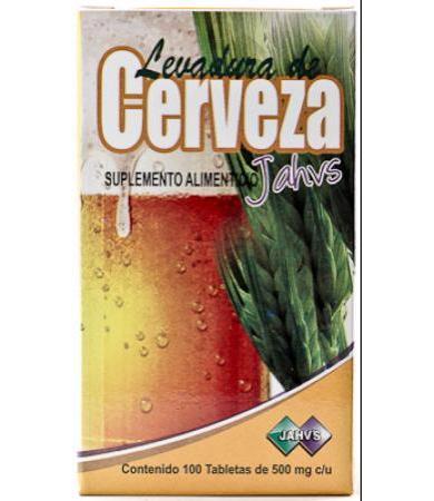 LEVADURA DE CERVEZA 100 TAB JAHVS LC