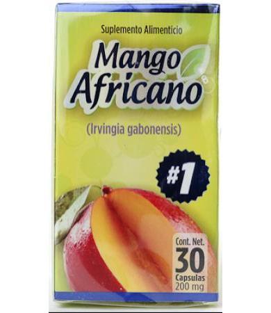 MANGO AFRICANO 30 CAPS NATURA CASTLE