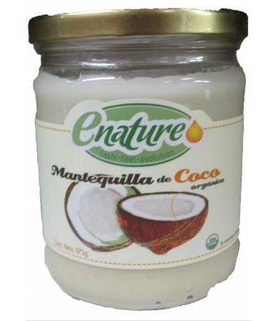 MANTEQUILLA DE COCO 454 G E NATURE