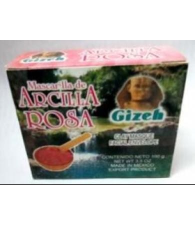 MASCARILLA ARCILLA ROSA POLVO GIZEH 100G