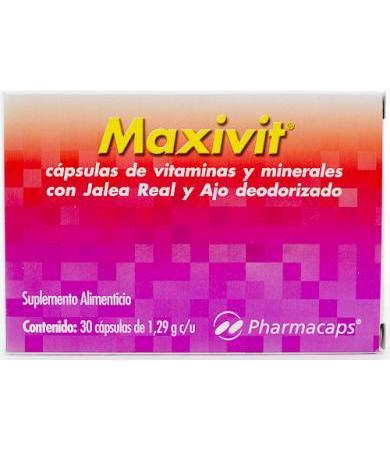 MAXIVIT CON 30 CAP PHARMACAPS