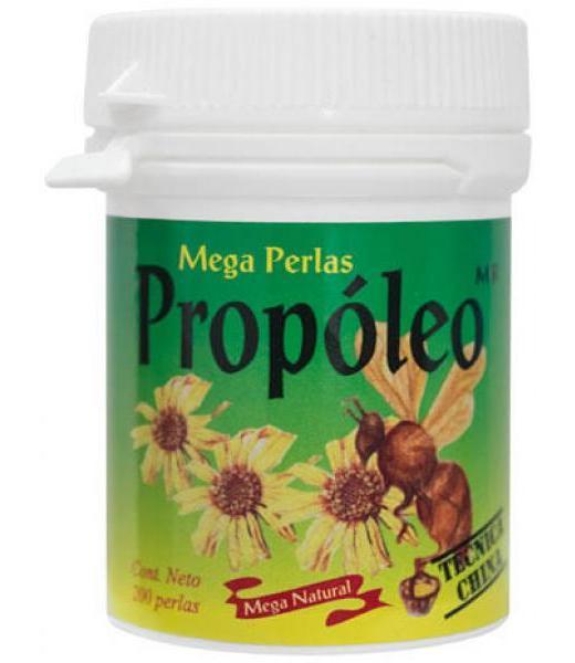 MEGA PERLAS DE PROPOLEO C 200 OCOTZOTL