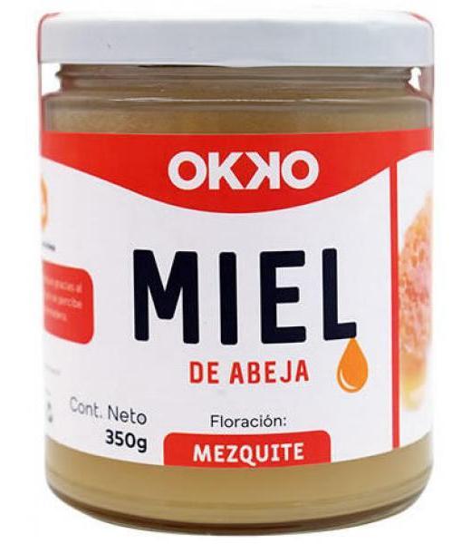 MIEL DE ABEJA FLORACION MEZQUITE 350 G OKKO