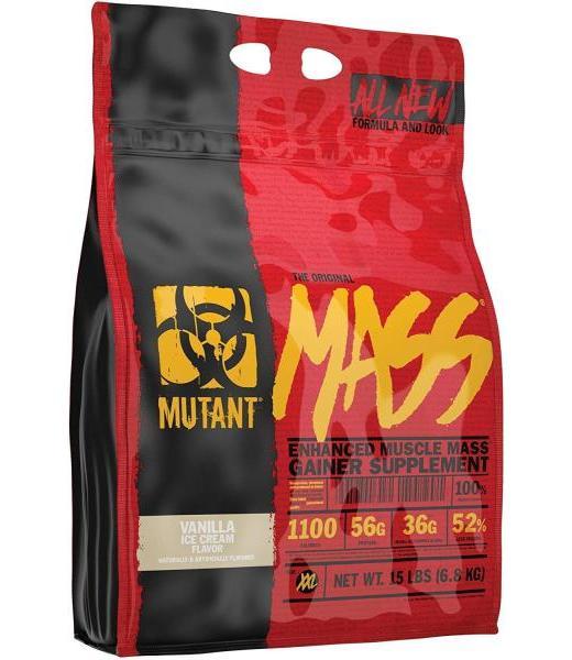 MUTANT MASS VANILLA ICE CREAM 15 LB (26 SRVS) MUTANT