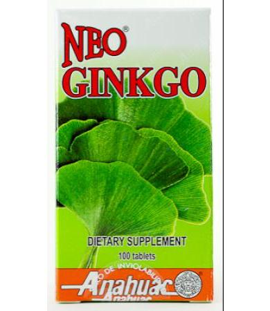 NEO GINKGO 100 TAB ANAHUAC