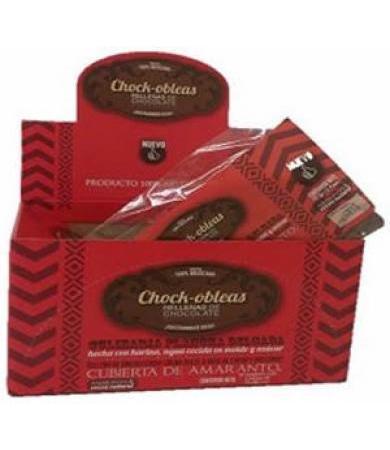 OBLEAS DE CHOCOLATE RELLENAS DE CHOCOLATE 75 G CHOK OBLEA P 10