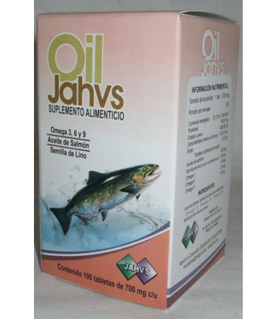 OIL 100 TAB JAHVS LC
