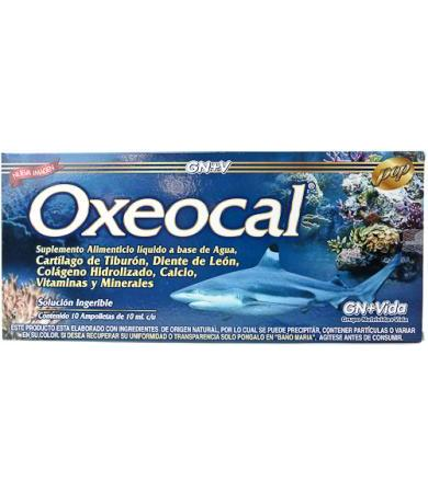 OXEOCAL CARTILAGO DE TIBURON AMP 10X10 ML