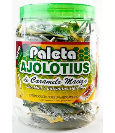 PALETA AJOLOTIUS 10 G P 50