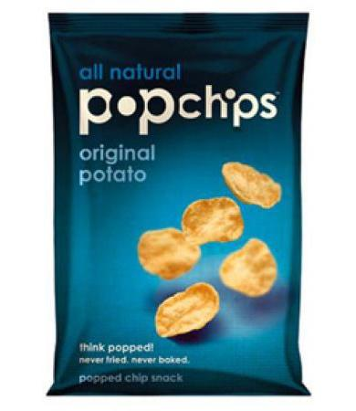 PAPAS POP CHIPS NATURALES GLUTEN FREE  23 G