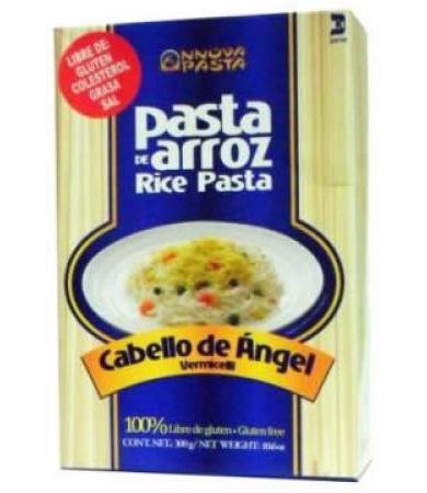 PASTA DE ARROZ SIN GLUTEN CABELLO DE ANGEL 300 G NOVA PASTA