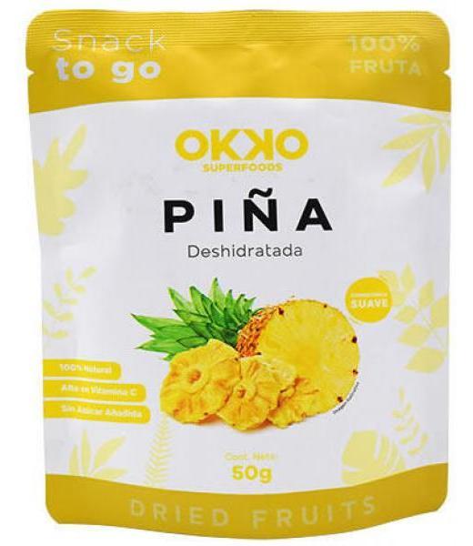 PIÑA DESHIDRATADA 50 G OKKO