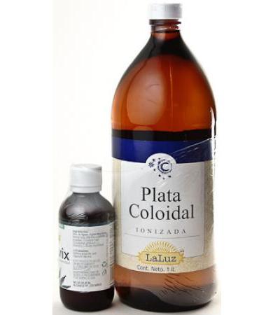 PLATA COLOIDAL 1 LT LA LUZ