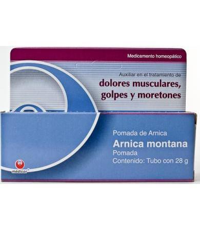 POMADA DE ARNICA MONTANA 28 G MEDICOR