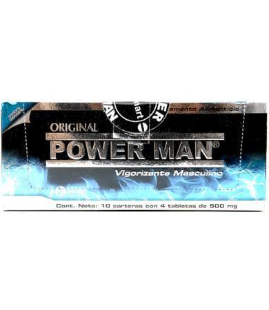POWER MAN CARTERA CON 4 TAB