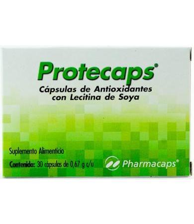 PROTECAPS ANTIOXIDANTE 30 CAP PHARMACAPS