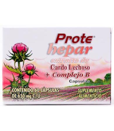 PROTEHEPAR EXT.CARDO LECH.60 CAP