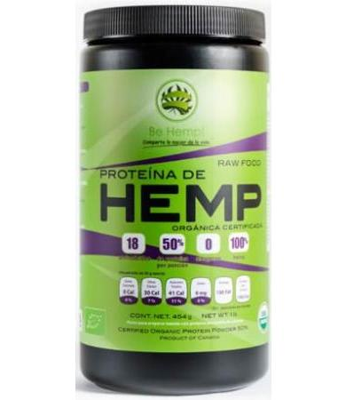 PROTEINA DE HEMP  454 G ORGANICO BE HEMP