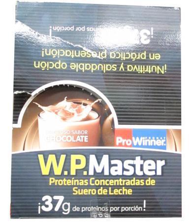 PROTEINA WP MASTER CHOCOLATE SOBRE 50 G PROWINNER P 20