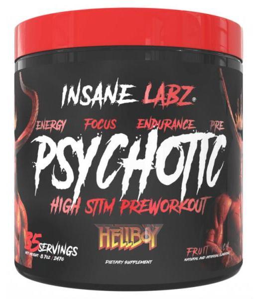 PSYCHOTIC HELLBOY LEMONADE 248.5 G (35 SRVS) INSANE LABZ