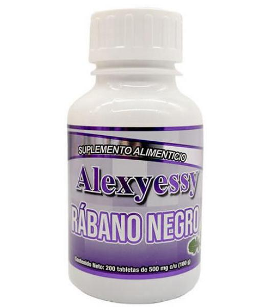 RABANO NEGRO 200 TAB ALEXYESSY NATURAL