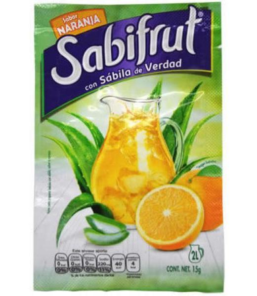 SABIFRUT SAB NARANJA 15 G SABIFRUT P 8