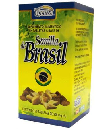 SEMILLA DE BRASIL 30 TAB YPENZA