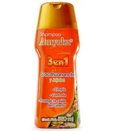 SHAMPOO CACAHUANANCHE AMYRKA 550 ML