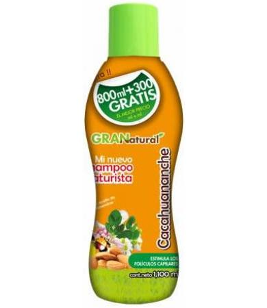 SHAMPOO CACAHUANANCHE Y ALMENDRAS 1100 ML NA-C PLUS GRANATURAL