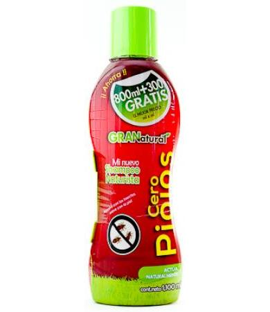SHAMPOO CERO PIOJOS 1100 ML NA-C PLUS GRANATURAL