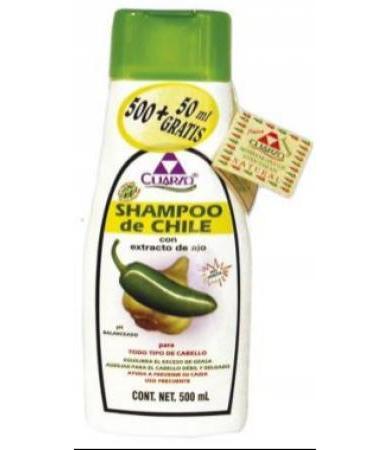 SHAMPOO CHILE 550ML CUARZO