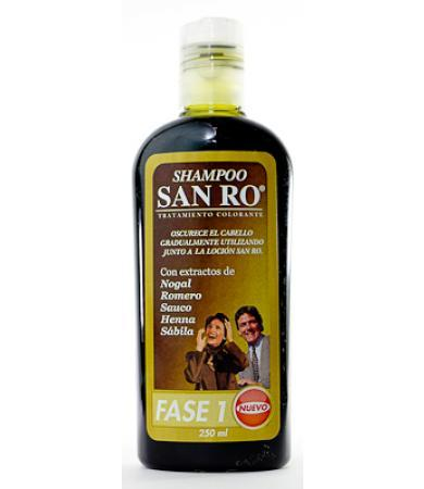 SHAMPOO TRAT COLORANTE 250 ML SAN RO