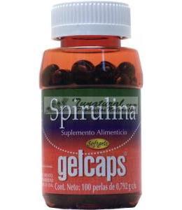 SPIRULINA GELCAPS 100 CAPSULAS