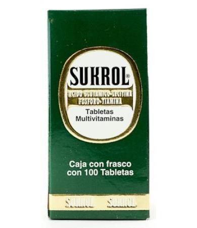 SUKROL FRASCO CON 100 TAB BRONCOLIN