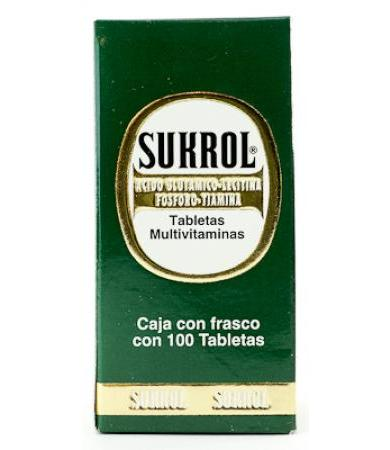 SUKROL FRASCO CON 100TAB