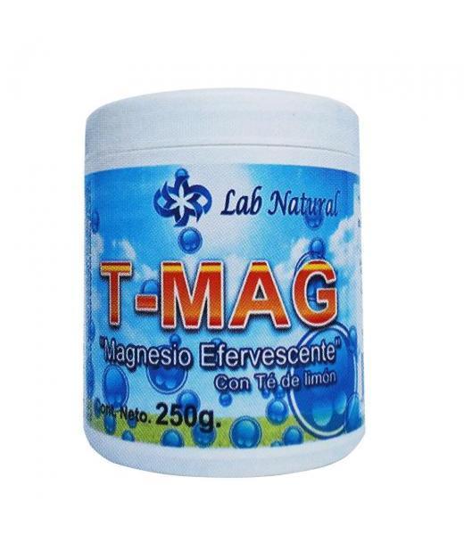 TARRO T-MAG 250GR MAGNESIO EFERVECENTE CON TE DE LIMON