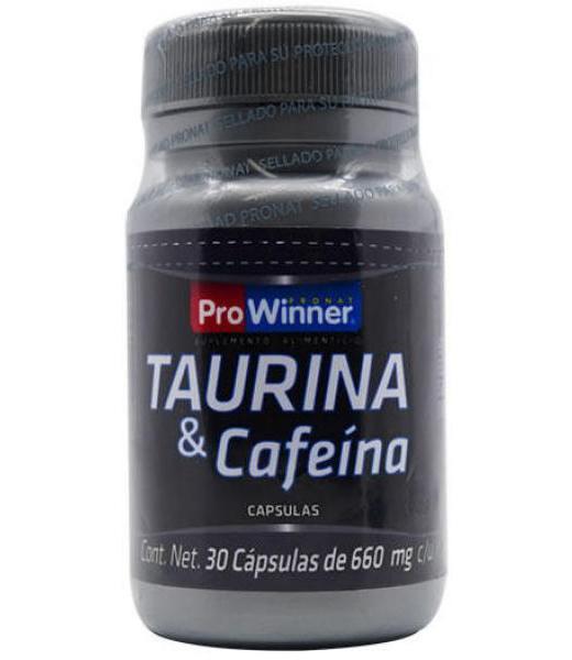 TAURINA Y CAFEINA 30 CAP PROWINNER