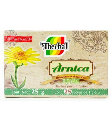 TE ARNICA 25 SOBRES THERBAL