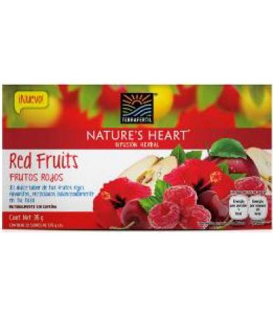 TE DE FRUTOS ROJOS 35 G NATURE S HEART