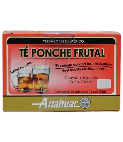 TE PONCHE DE FRUTAS 30 SOB ANAHUAC