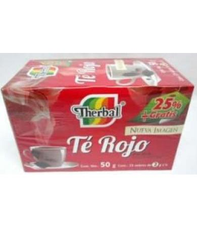 TE ROJO CHINO THERBAL 20 SOB